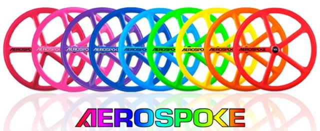 Roți Colorate Aerospoke Pentru Cei Pasionați De Imagine