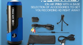 ION AIR PRO: camera video prin care urci filmele pe internet instant