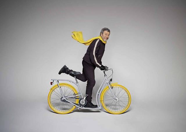 bicicleta și viziunea)