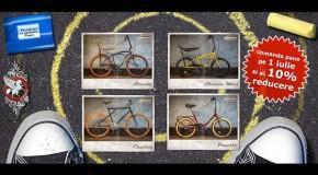 Bicicletele Pegas pot fi deja comandate