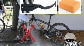 Cum cureți bicicleta?