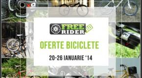 Oferta Biciclete 20 – 26 Ianuarie 2014