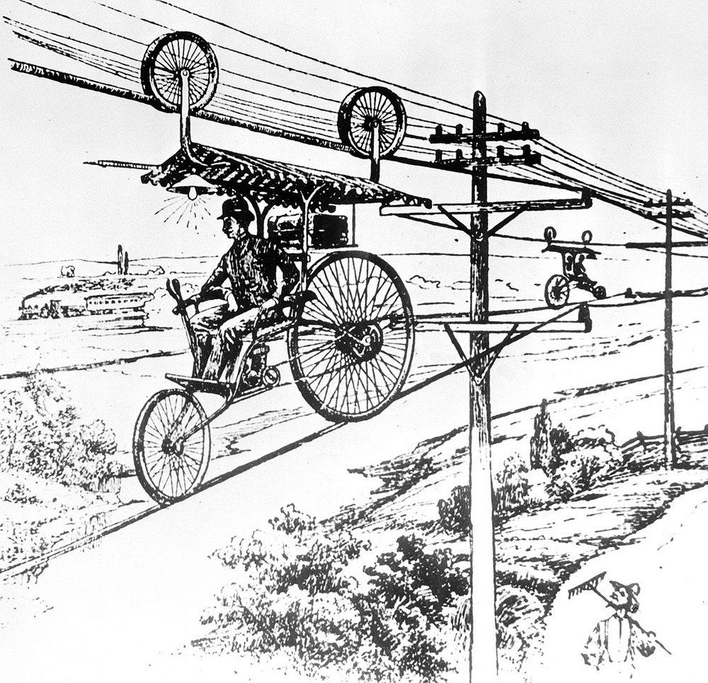 Aerial Bicycle