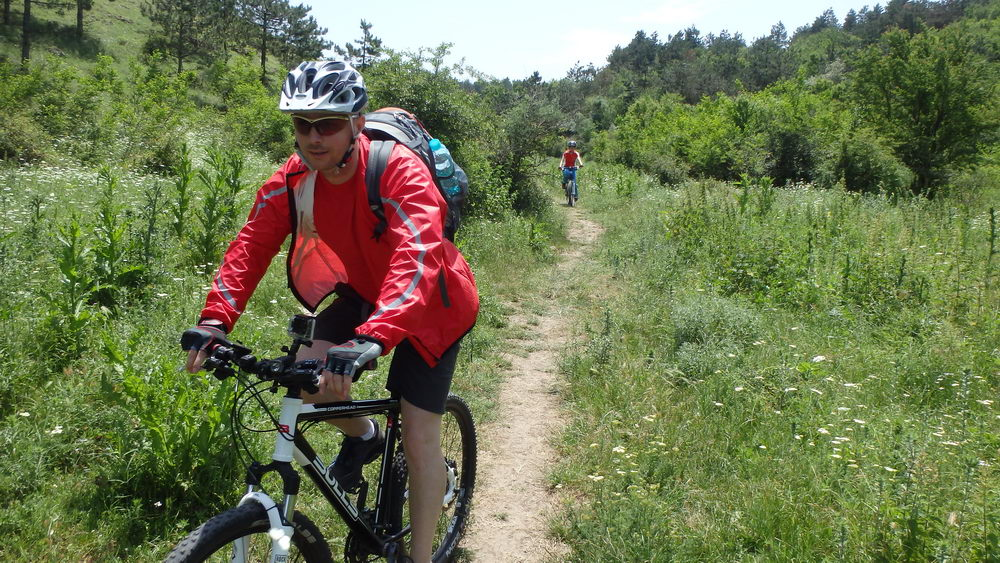traseu cicloturism triatlon fara asfalt 2 mai vama veche 05