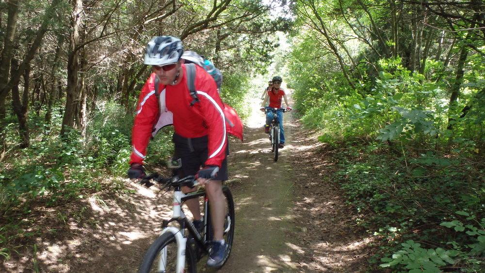 traseu cicloturism triatlon fara asfalt 2 mai vama veche 07