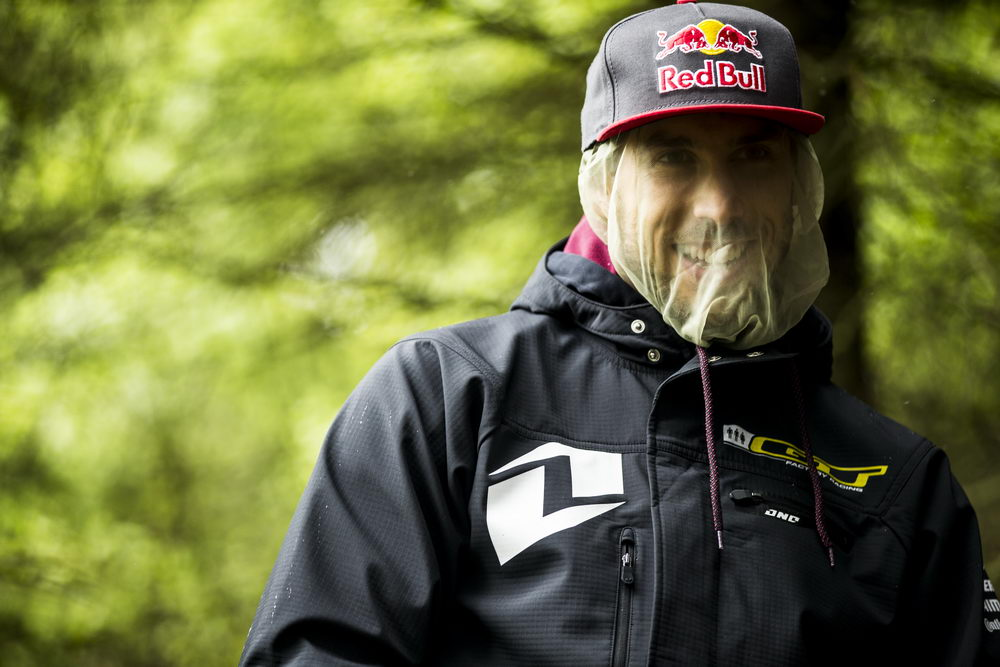 , during the Ft William MTB World Cup, Scotland.