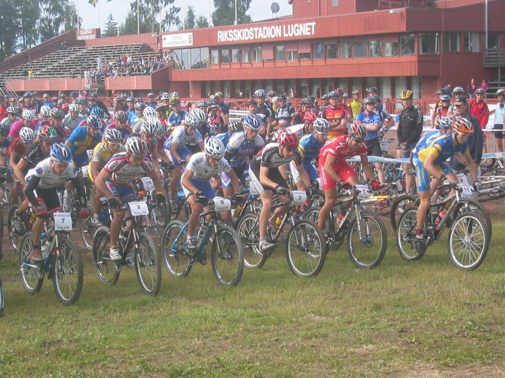 CUPA MONDIALA XCM - SUEDIA, 2005.
