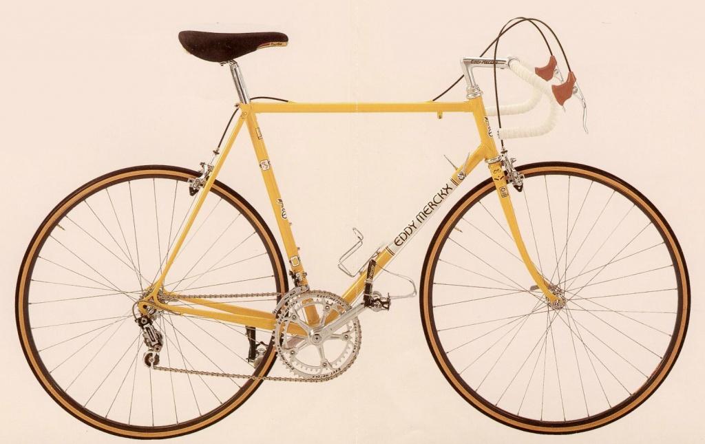 Eddy Merckx retro bike