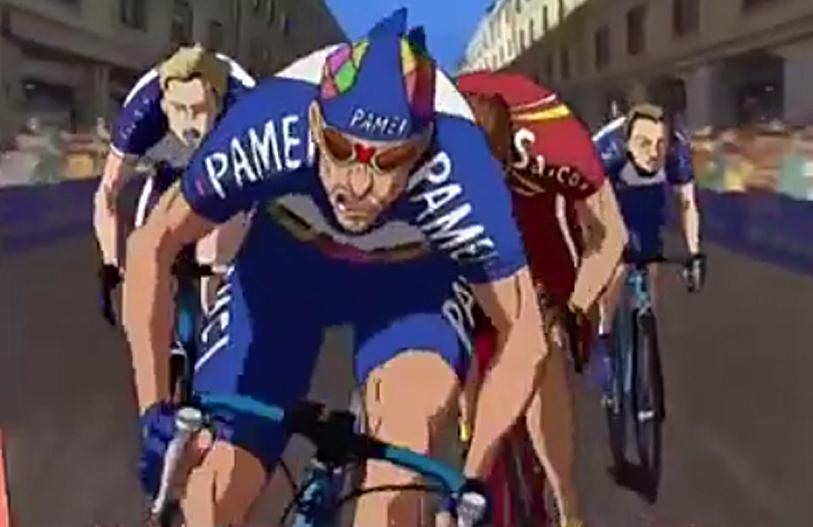 desene animate ciclism
