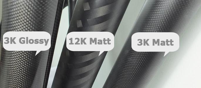 diferentele dintre tipurile de carbon 3k ud 02