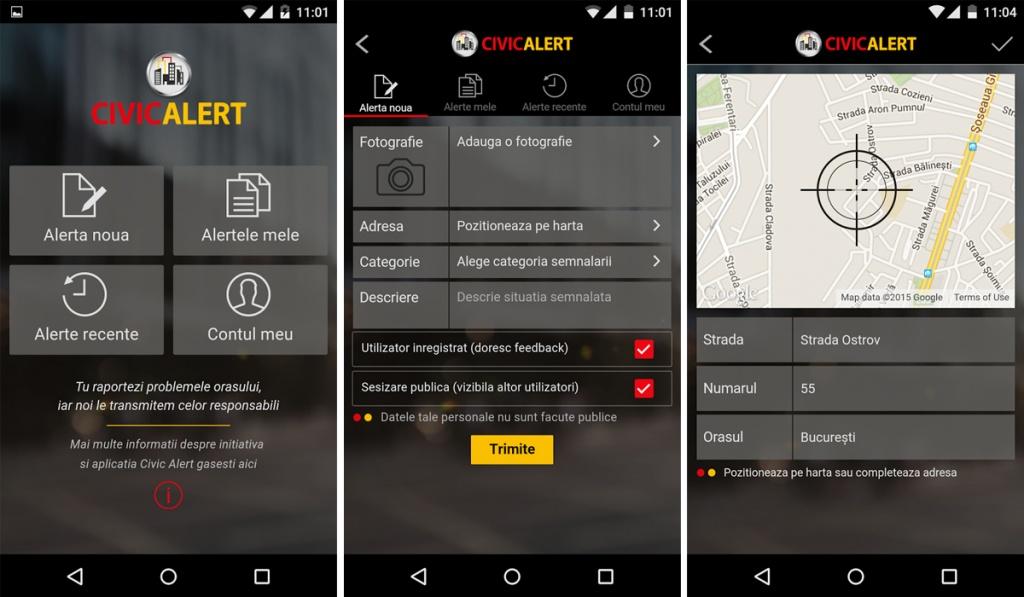 aplicatie CivicAlert parcari ilegale 02