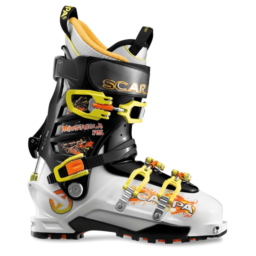 scarpa-maestrale-rs-alpine-touring-ski-boots-2013-white-black-yellow-side