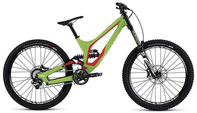2016-Specialized-Demo-8-I-alloy-downhill-mountain-bike-green