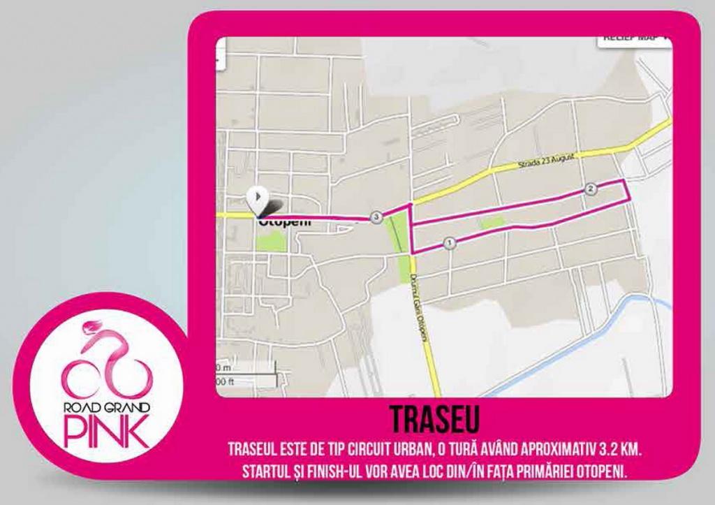 road grand pink traseu 2016