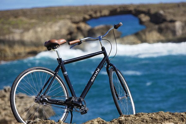Fezzari_Simbi_simple-city-bike_High-Rise-black_beach-600x401