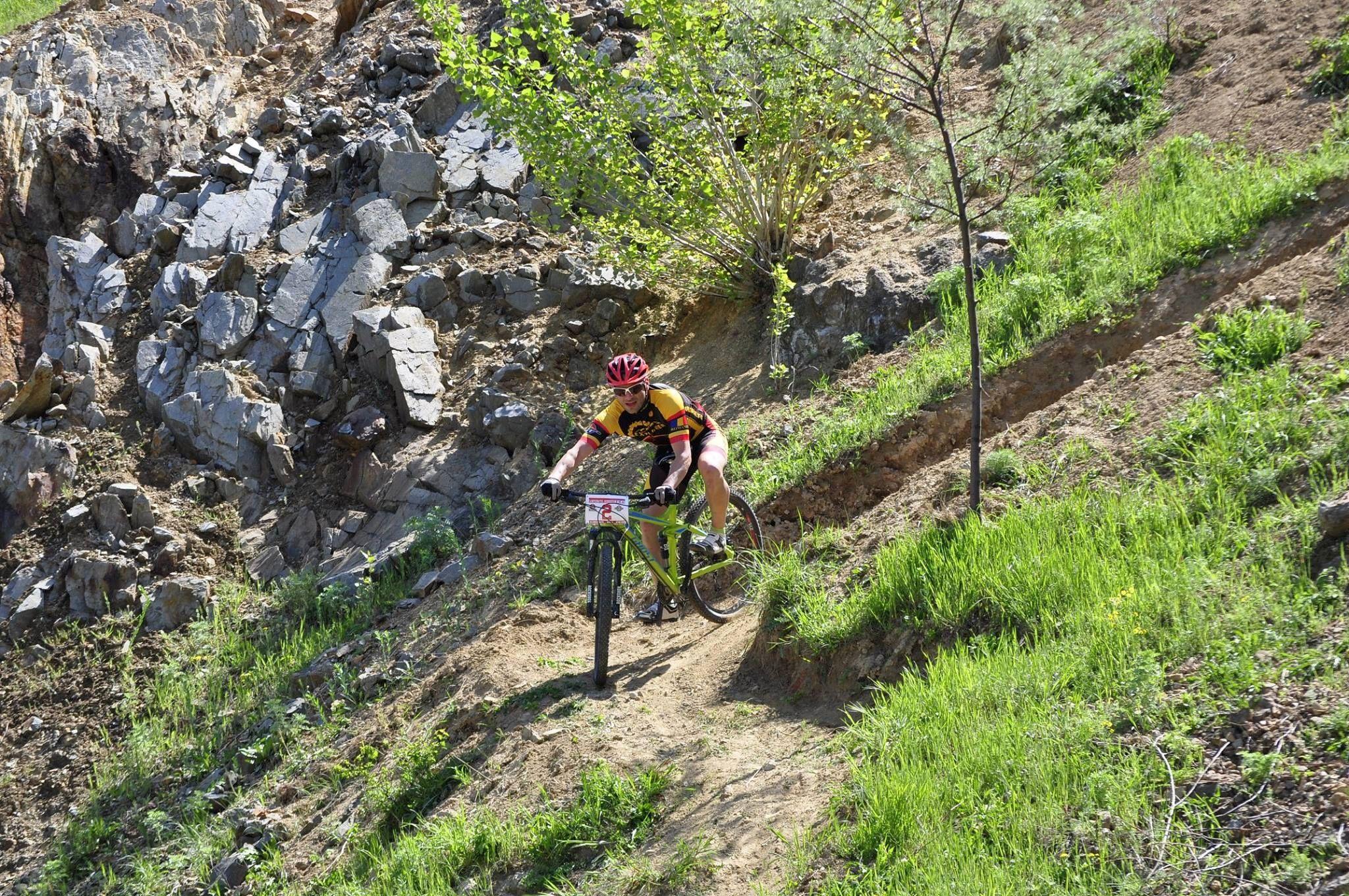 Radu Bontas, cu siguranta, cel mai tehnic rider din competitie