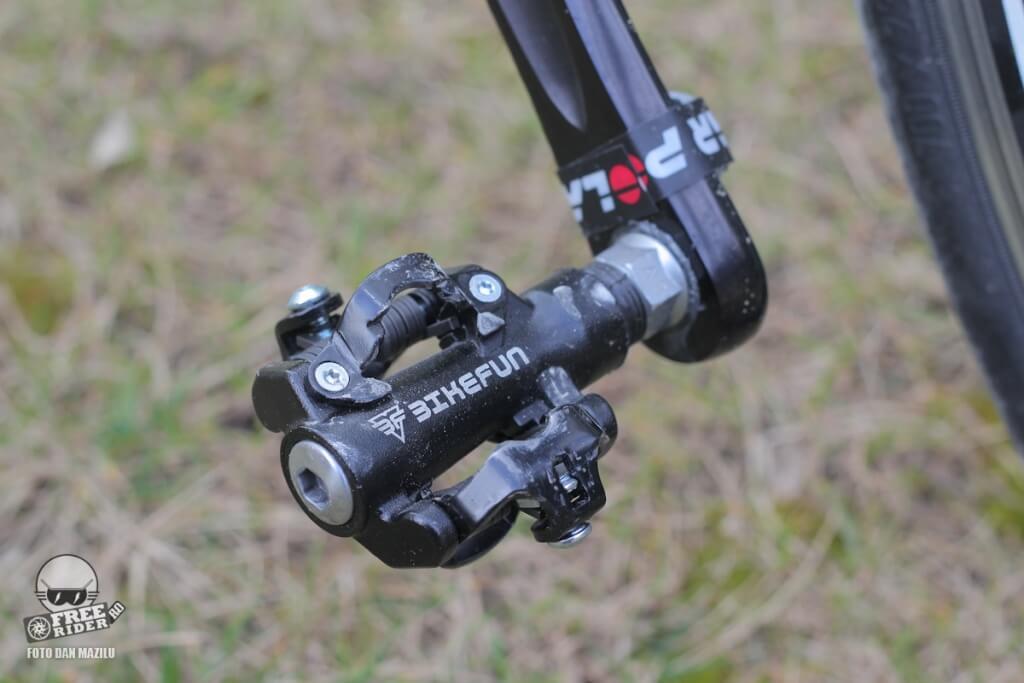 review recenzie test pedale automate spd bikefun dual trap 04