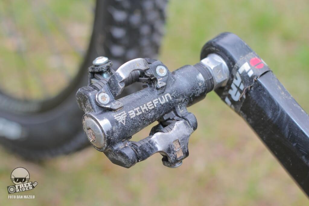 review recenzie test pedale automate spd bikefun dual trap 05