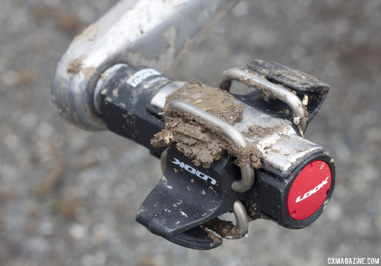 Look S-Track mtb / cyclocross pedal reviewed. © Cyclocross Magazine