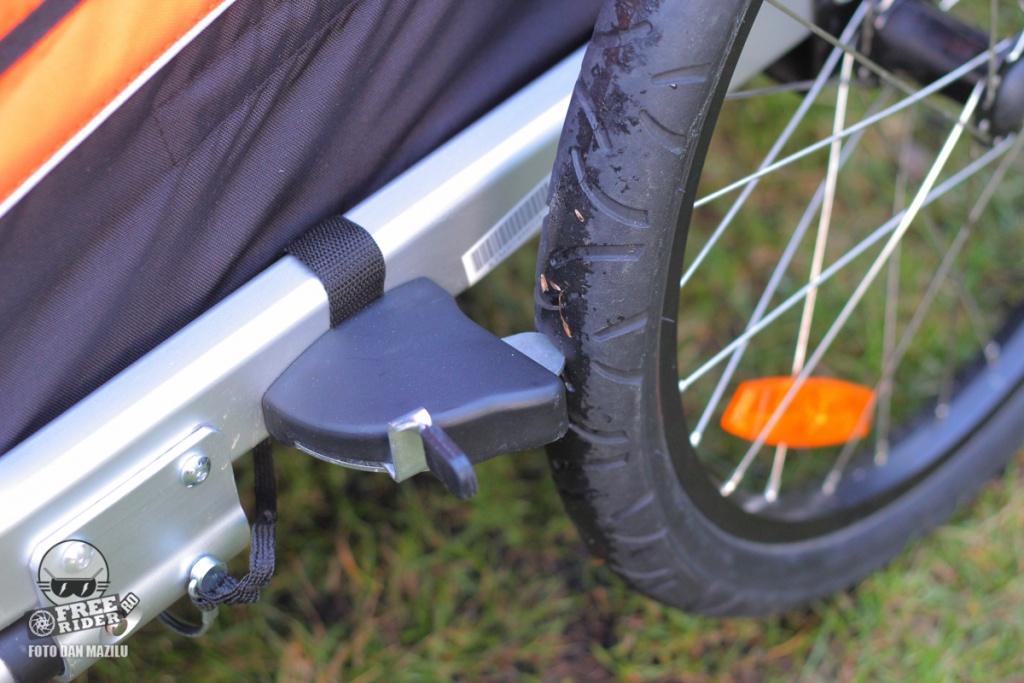 review recenzie test remorca bicicleta ktm trailer 03