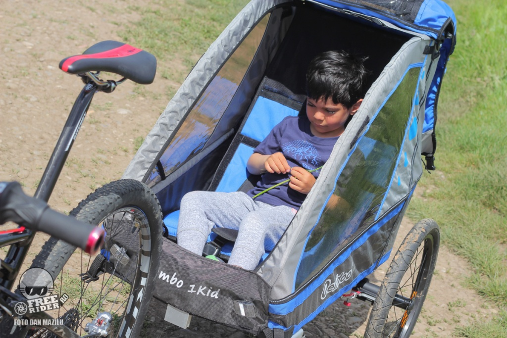 review test recenzie remorca bicicleta qeridoo jumbo 1kid 07