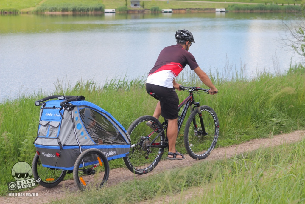 review test recenzie remorca bicicleta qeridoo jumbo 1kid 08