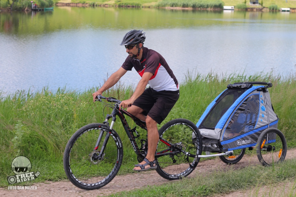 review test recenzie remorca bicicleta qeridoo jumbo 1kid 09