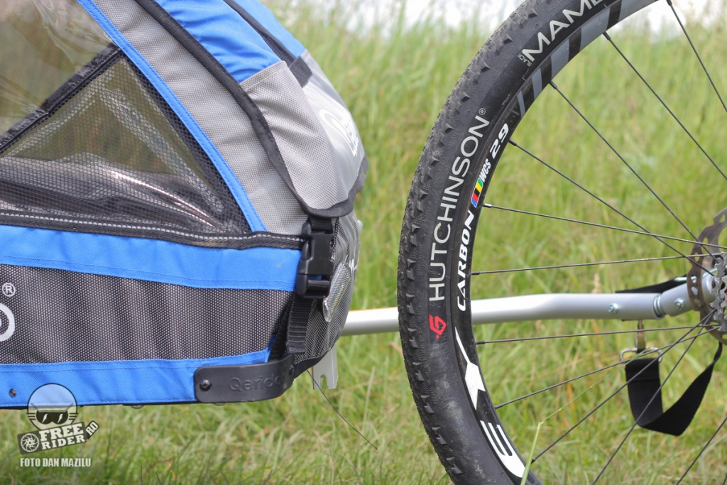 review test recenzie remorca bicicleta qeridoo jumbo 1kid 11