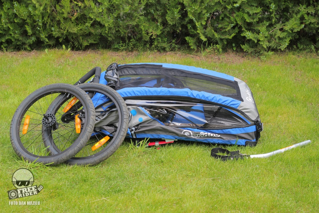 review test recenzie remorca bicicleta qeridoo jumbo 1kid 12
