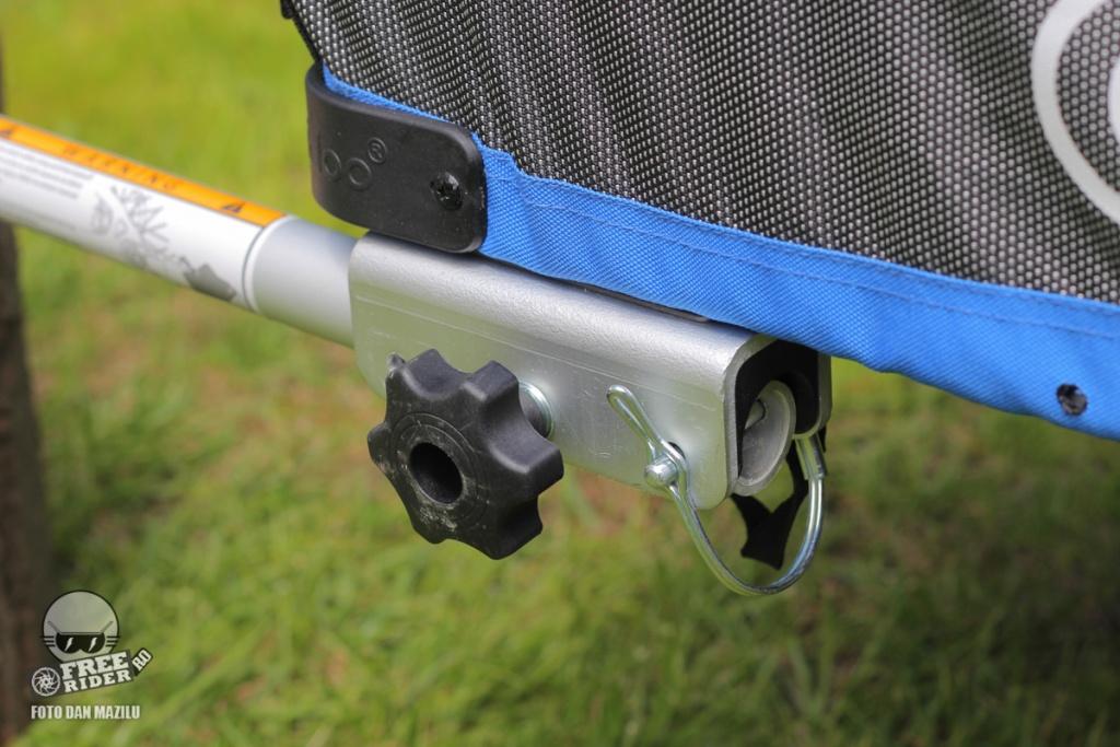 review test recenzie remorca bicicleta qeridoo jumbo 1kid 14