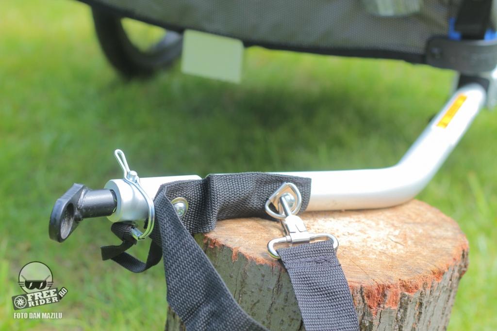 review test recenzie remorca bicicleta qeridoo jumbo 1kid 15