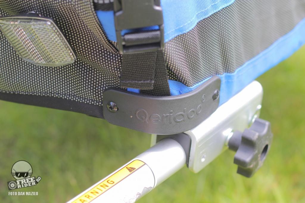 review test recenzie remorca bicicleta qeridoo jumbo 1kid 16