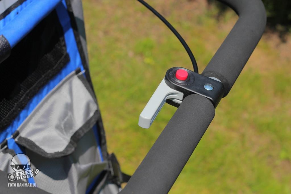 review test recenzie remorca bicicleta qeridoo jumbo 1kid 22