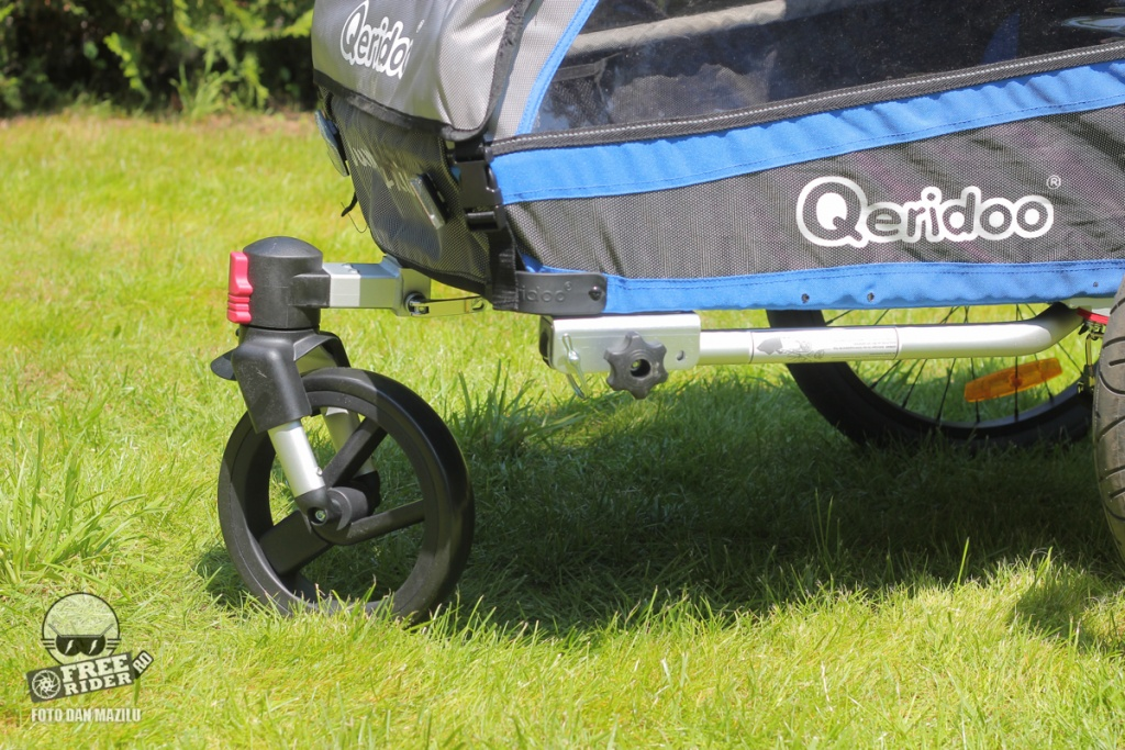 review test recenzie remorca bicicleta qeridoo jumbo 1kid 24