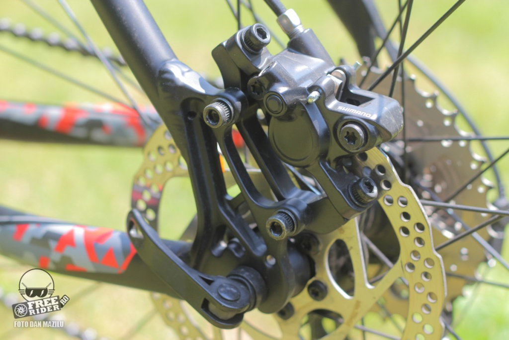 review recenzie test Silverback Spectra Comp 16