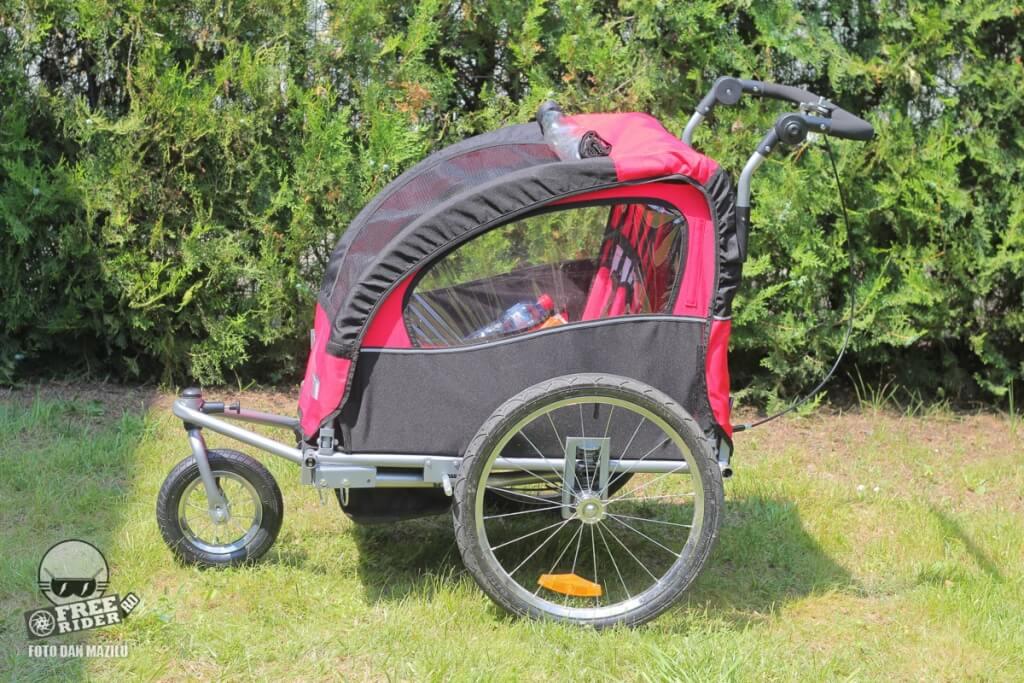 review recenzie test remorca qaba bicicleta 12