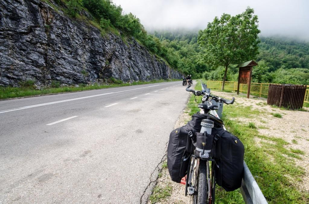 traseu bicicleta Clisura Dunarii Orsova Golubat 06