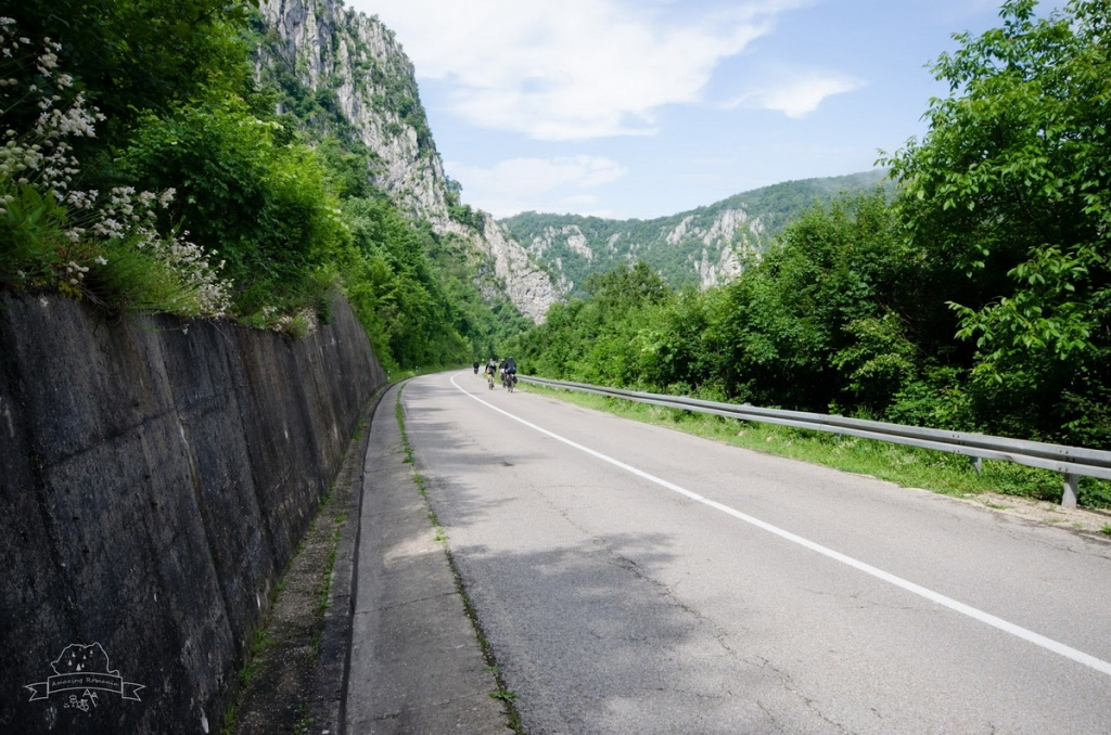traseu bicicleta Clisura Dunarii Orsova Golubat 07