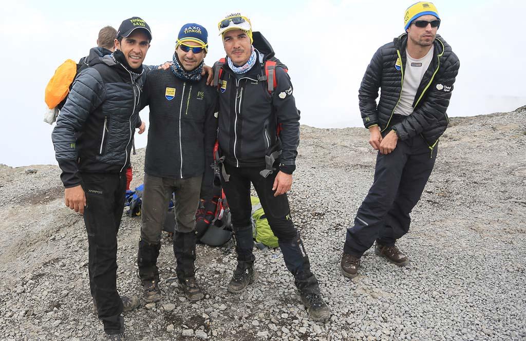 Contador la plimbare...pe Kilimanjaro!