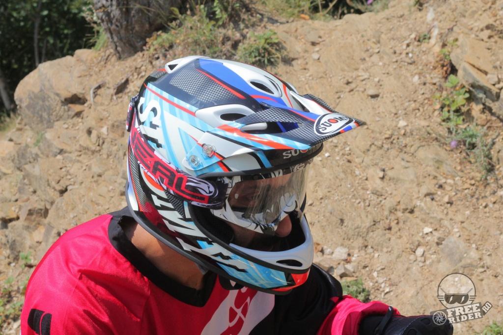 review test recenzie casca downhill suomy jumper 22