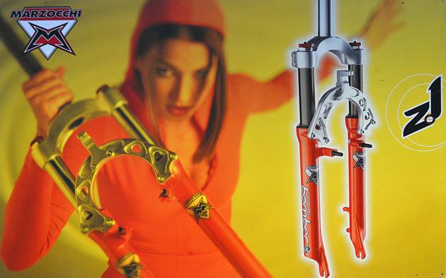 1997 - Z1 și marketingul încă reținut al celor de la Marzocchi