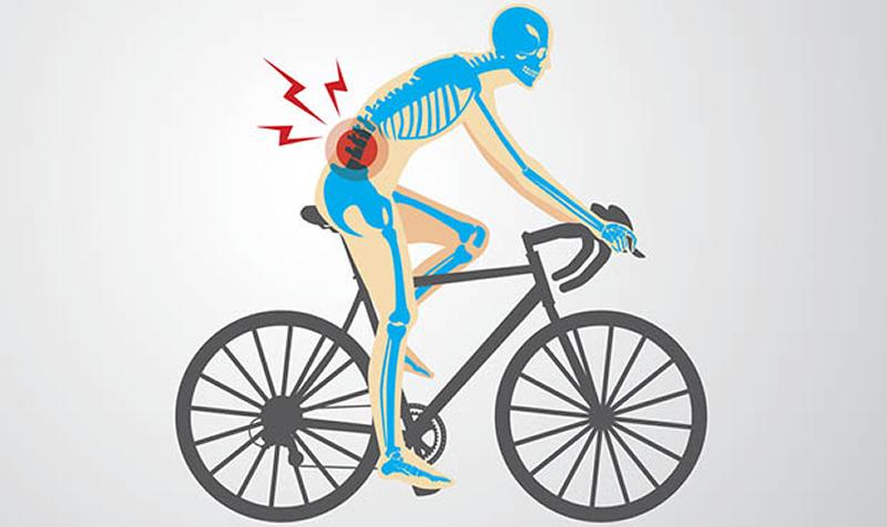 articulațiile doare mult după bicicletă)