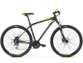 Bicicleta Kross HEXAGON 5.0, 29, 2019, negru-gri-lime