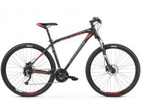 Bicicleta Kross HEXAGON 6.0, 29, 2019, negru-gri-rosu