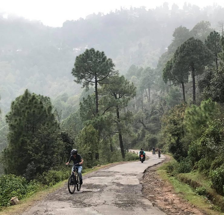 The Road The Happiness bikepacking India